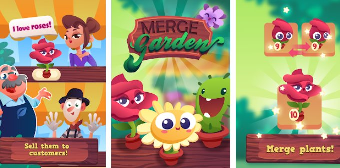 Merge Garden Free Shopping MOD APK Free Download