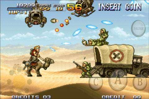 Metal Slug Voll APK Android Spiel kostenlos heruntergeladen werden