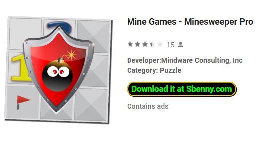 mine games minesweeper pro