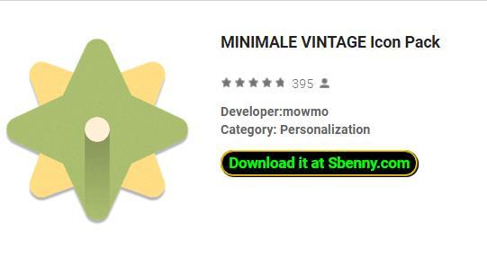 pack d'icônes vintage minimal