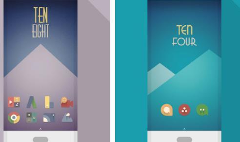 jeu d'icônes vintage minimal APK Android