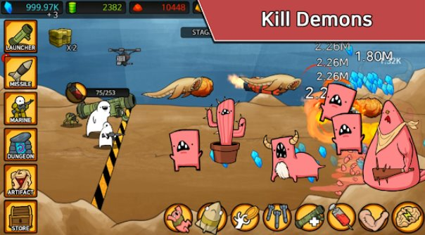 missila tad-dude rpg tap tap missile APK Android