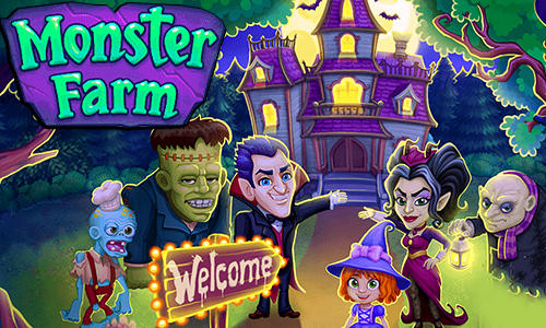 monster farm happy halloween game and ghost village