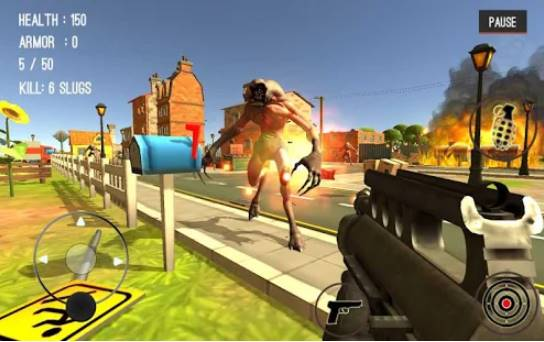 monster killing city shooting III trigger strike APK Android