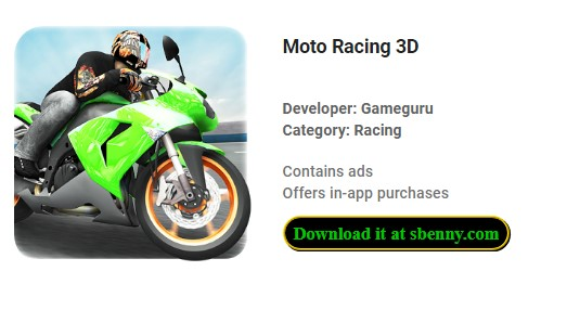 Moto Racing 3D Unlimited Coins & Tickets MOD APK Download