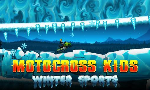 motocross enfants sports d'hiver