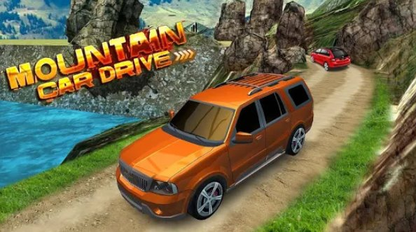 Berg Auto fahren