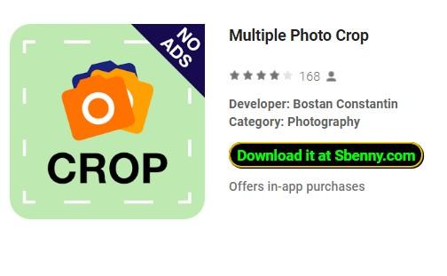 multiple photo crop