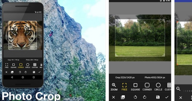 multiple photo crop APK Android