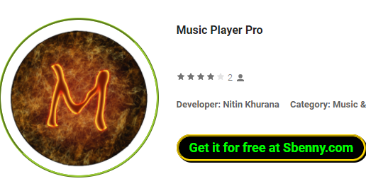 Music Player Pro MOD APK for Android Free Download
