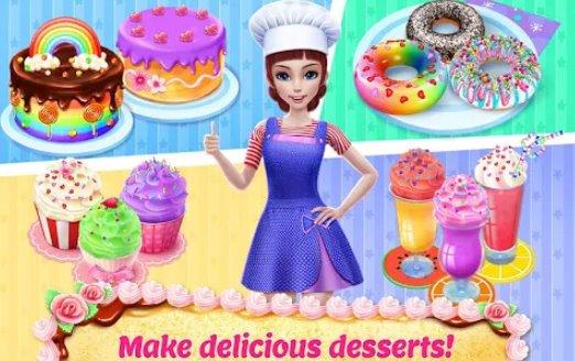 meine Bäckerei Reich backen dekorieren und servieren Kuchen APK Android