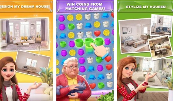 My Home Design Dreams Unlimited Coins Mod Apk Descargar