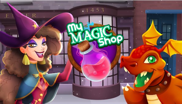 mon magasin de magie