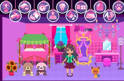 my princess castle doll and home decoration game APK Android