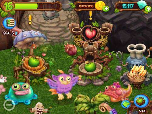 My Singing Monsters DawnOfFire MOD APK Android Free Download