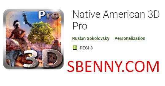 коренной американец 3d pro