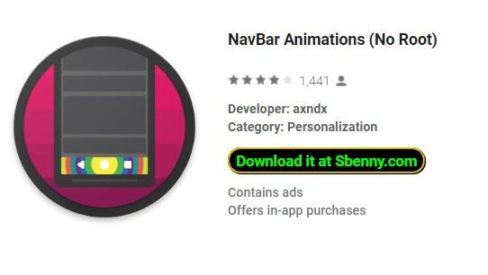NavBar Animations (No Root) Unlocked MOD APK Download