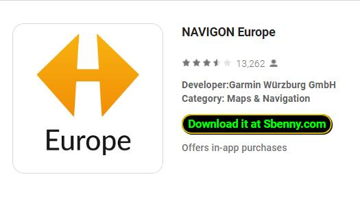 navigon europe download android free