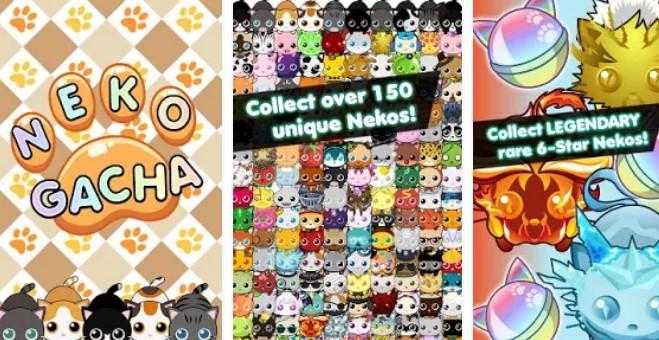🎮 MOD APK - Neko Gacha - Cat Collector v1 0 0 Hacked (New