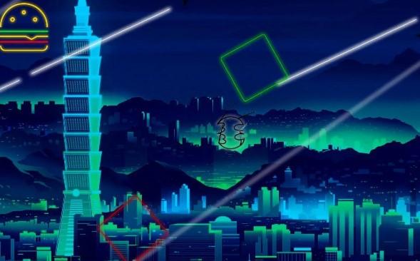 premio di rimbalzo al neon il gioco APK Android