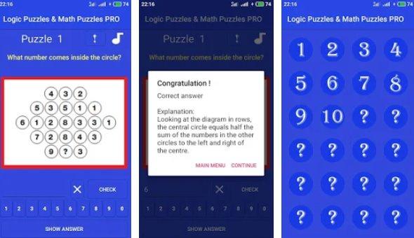 NEW Logic & Math Puzzles PRO 2019