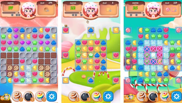 new sweet cookie pop2020 puzzle world APK Android