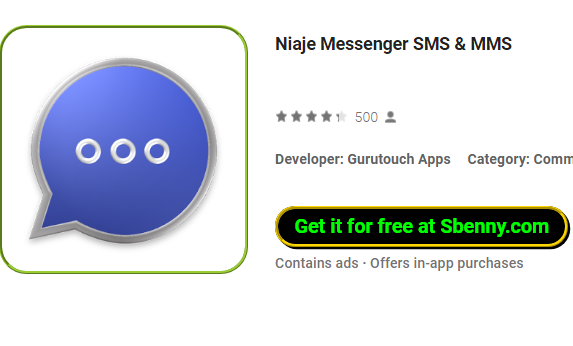 Niaje Messenger SMS & MMS MOD APK for Android Download