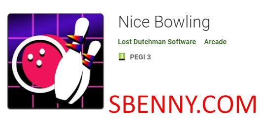 Schönes Bowling