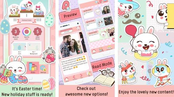 niki cute diary app APK Android