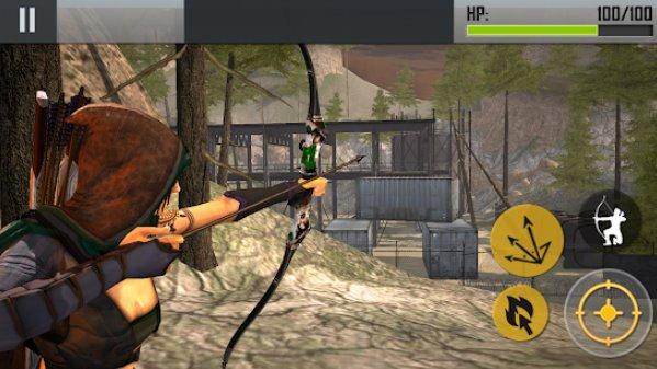Ninja Bogenschütze Meuchelmörder fps Shooter APK Android