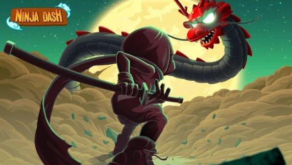 ниндзя тире ronin shinobi бежит прыгать и слэш врагов
