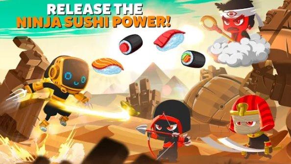 ninja dash ronin shinobi запустить прыжок и слэш противников APK Android