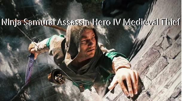 ниндзя самурай убийца герой iv средневековый вор
