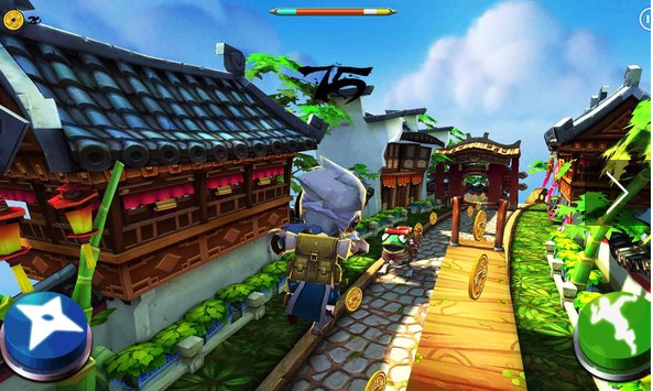 nonstop warrior APK Android