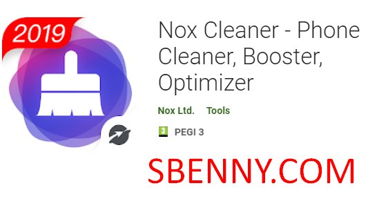 nox cleaner phone cleaner booster optimizer