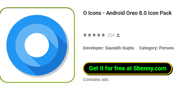 O Icons Android Oreo 8 0 Icon Pack APK Android Download