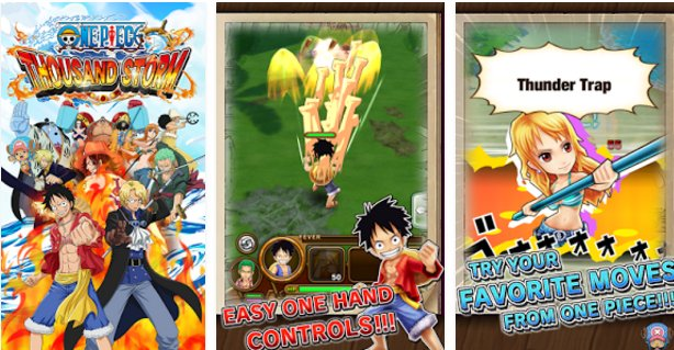 one piece thousand storm APK Android