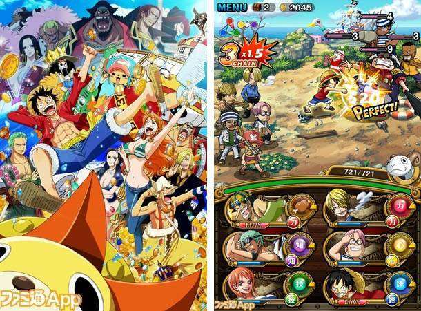 ONE PIECE TREASURE CRUISE APK MOD Android Game Free Download