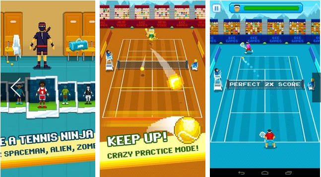 one tap tennis APK Android