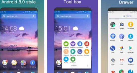 oo launcher para Android e 8 0 oreo APK Android