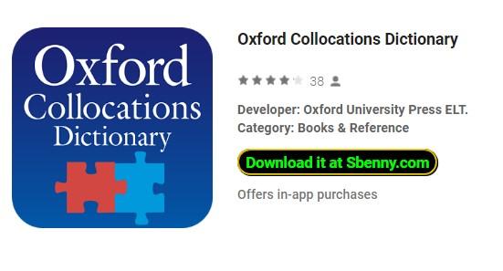 diccionario de las colocaciones de Oxford