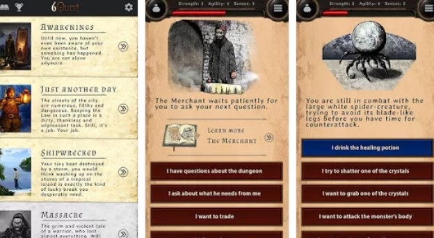 6quest choose your own story APK Android