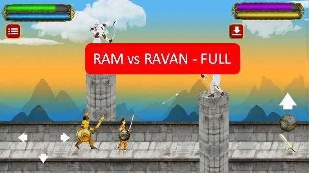 Ram vs Ravan pleine