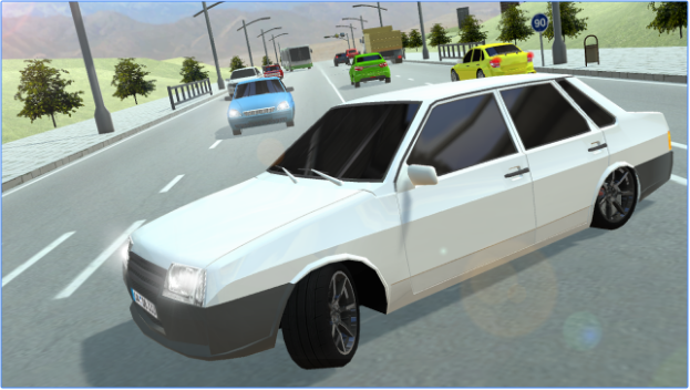 Russian Cars 99 and 9 in City APK Android