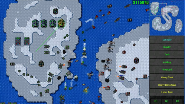 Rusted Warfare RTS Strategy APK Android