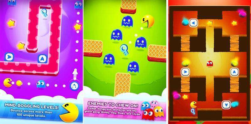 PAC-MAN Bounce MOD APK Android Game Free Download