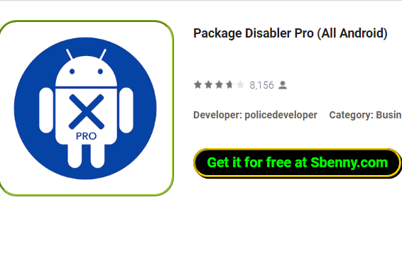 Package Disabler Pro (All Android) APK Android Download