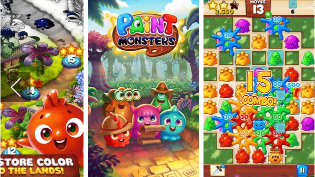 Paint Monsters MOD APK Android Free Download