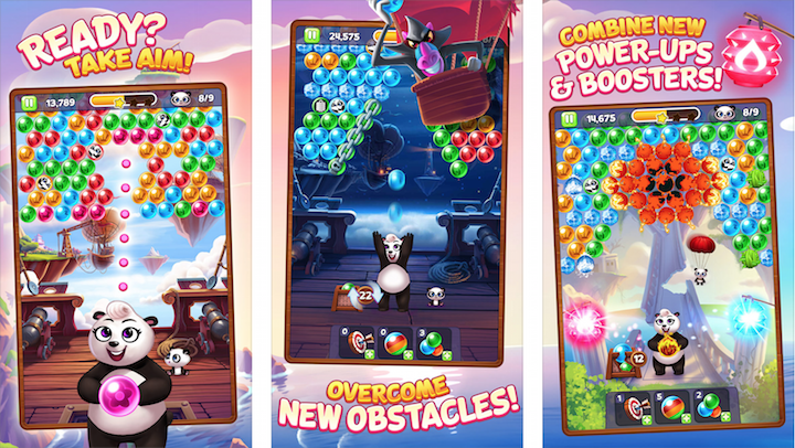 Panda Pop MOD APK Android Game Free Download