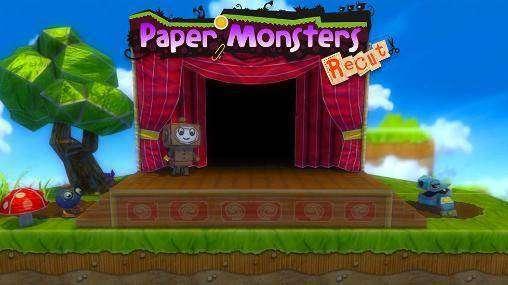 Los monstruos de papel rediseñado Deluxe